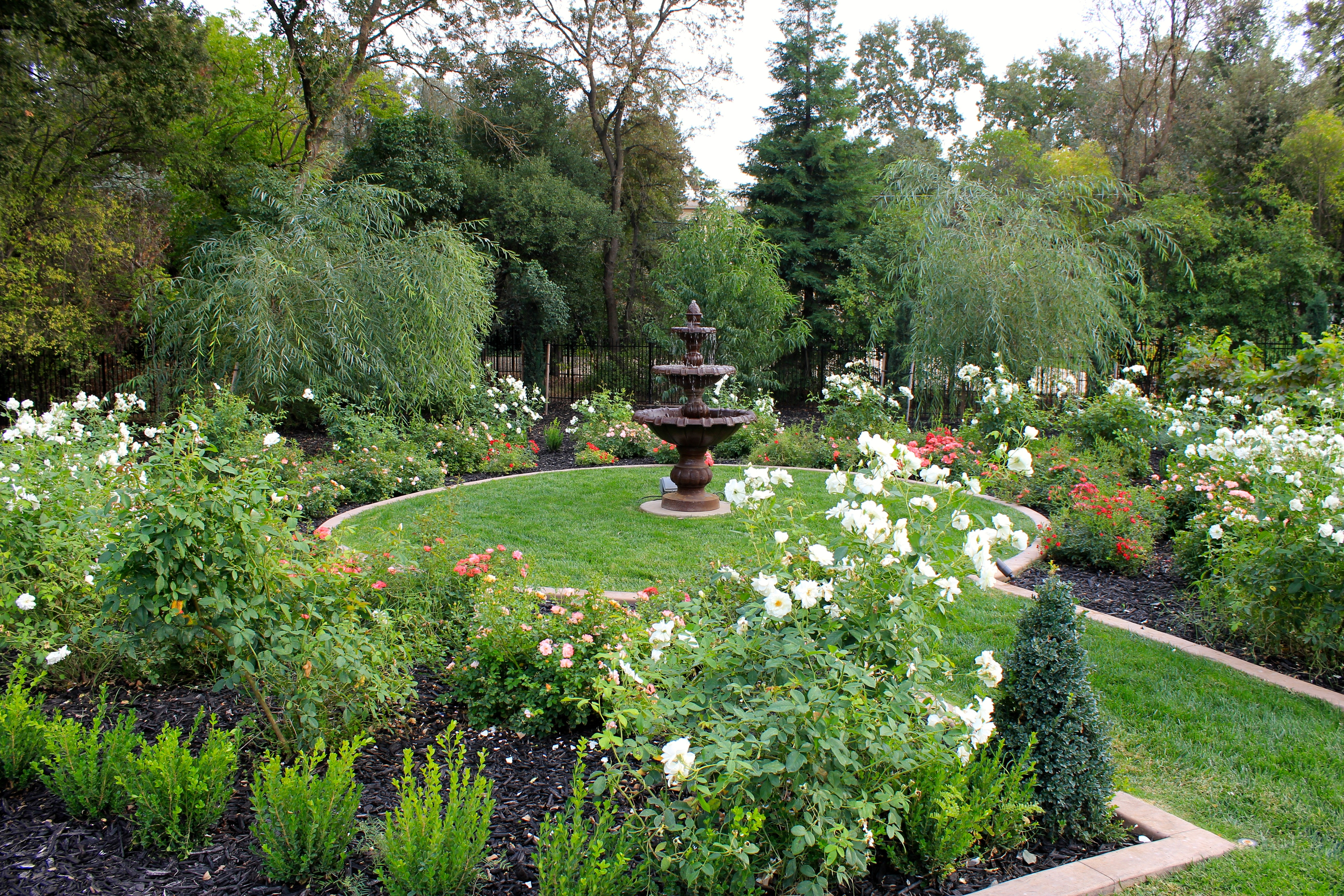 Formal rose garden michael glassman associates for White house rose garden design