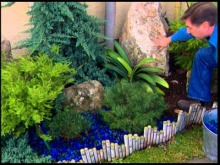 Embedded thumbnail for Specialty glass mulch in the garden